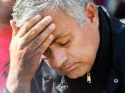 Kaum noch eine Zukunft in Manchester: Startrainer José Mourinho (Bild: KEYSTONE/EPA/ANDY RAIN)