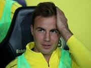 Spielt derzeit in Dortmund nicht - und steht dennoch im Mittelpunkt vieler Diskussionen: Mario Götze (Bild: KEYSTONE/EPA/FRIEDEMANN VOGEL)