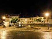 Der Postplatz in Flums: Der erste Tatort, an dem ein damals 17-jähriger Lette mehrere Personen mit einer Axt verletzte. (Bild: KEYSTONE/EDDY RISCH)