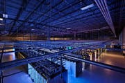 Serverzentrum in Hamina. (Bild: Keystone)