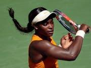 Sloane Stephens kann ihren Titel am US Open nicht verteidigen und scheidet in den Viertelfinals aus (Bild: KEYSTONE/FR170905 AP/ANDRES KUDACKI)