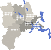 So werden die Sitze künftig im Luzerner Kantonsrat verteilt. (Grafik: Staatskanzlei Luzern)