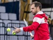 Team-Captain Severin Lüthi gab sein Aufgebot für das Davis-Cup-Playoff bekannt (Bild: KEYSTONE/ALEXANDRA WEY)