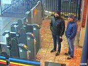 Die britische Polizei sucht im Fall Skripal nach zwei verdächtigen Russen und veröffentlichte unter anderem dieses Foto. (Bild: KEYSTONE/EPA LONDON METROPOLITAN POLICE/HANDOUT)