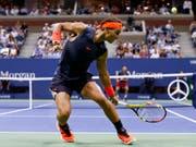 Rafael Nadal kämpfte fast fünf Stunden, ehe sein Einzug in den Halbfinal feststand (Bild: KEYSTONE/FR103966 AP/JASON DECROW)