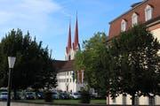 Das neue Leitbild wird das Gesicht des Klosterdorfes während der nächsten Legislatur verändern. (Bild: Cornelia Bisch (Muri, 5. August 2018))