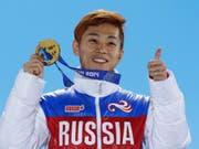 Der sechsfache Olympiasieger Viktor Ahn tritt zurück (Bild: KEYSTONE/AP/DAVID J. PHILLIP)