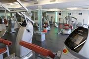 Die Fitnessbranche ist ein sehr dynamischer Markt. Im Bild das Trainingscenter Fitnessplus im Stelz bei Wil auf Kirchberger Gemeindegebiet. (Bild: Hans Suter)