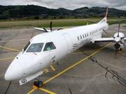 Die Konkurs gegangene Berner Fluggesellschaft Skywork litt permanent an Geldmangel. (Bild: KEYSTONE/ANTHONY ANEX)