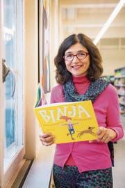 Autorin Ruth Monstein: «Binja» steht für ein gutes Gefühl – «ich bin ja da». (Bild: Urs Bucher)