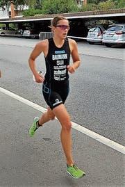 Sara Baumann auf dem Weg zum überlegenen Sieg. (Bild: PD)