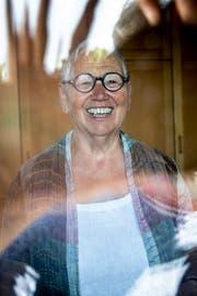 Berta Thurnherr-Spirig kostet den Klangreichtum des «Tippilzouar Dialekts» aus. (Bild: Beat Belser)