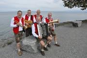 Die Hobbykrainer treten am Horner Seefest wieder auf. (Bild: Sandro Konatschnig)