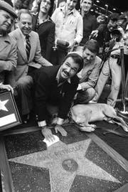 Burt Reynolds erhält seinen Stern auf dem «Walk of Fame». (Bild: AP Photo/file)