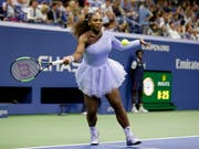 Serena Williams steht in ihrem neunten US-Open-Final in New York (Bild: KEYSTONE/AP/SETH WENIG)