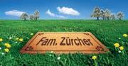 Plakat aus dem Jahr 2003. Mit dieser Kampagne breitete der Thurgau Familien aus dem Nachbarkanton den Teppich aus. Auslöser war ein negativer interkantonaler Wanderungssaldo. (Bild: PD/Archiv)