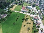 Auf der Parzelle «Braatewääg, Friesler» soll die neue Eschliker Sporthalle entstehen. (Bild: Olaf Kühne)