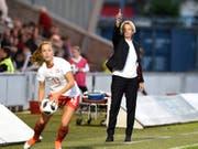 Martina Voss-Tecklenburg betreut die Schweizerinnen auch in den WM-Playoffs (Bild: KEYSTONE/AP Images/IAN RUTHERFORD)