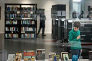 Die Stadtbibliothek Gossau. (Bild: Michel Canonica (9. Februar 2013)