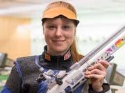 Nina Christen wird WM-Fünfte im Dreistellungsmatch Gewehr 50 m (Bild: KEYSTONE/LUKAS LEHMANN)
