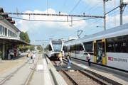 Bahnhof Bischofszell Stadt: Verkehrsthemen beschäftigen die Einwohner der Rosenstadt in hohem Masse. (Bild: Georg Stelzner)