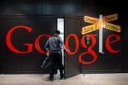 Google Gebäude in Zürich. (Ennio Leanza/Keystone (Zürich, 15. Dezember 2014)