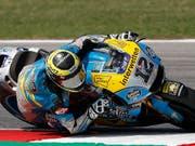 Rang 23 für Tom Lüthi im Qualifying zum Grand Prix von San Marino (Bild: KEYSTONE/AP/ANTONIO CALANNI)