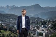 Der Luzerner Regierungsrat Guido Graf. (Bild: Pius Amrein (Luzern, 26. Juni 2017))