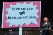 Leander Jaggi, Präsident der SRG Bern Freiburg Wallis. (Bild: Anthony Anex (Bern, 30. August 2018))
