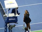 Serena Williams wird für ihre verbale Attacke auf Stuhlschiedrichter Carlos Ramos gebüsst (Bild: KEYSTONE/AP Invision/GREG ALLEN)