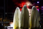Die Geister repräsentieren die Unterwelt.