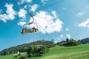 Die Bergbahnen in Wildhaus waren sowohl im vergangenen Sommer als auch Winter gut frequentiert. (Bild: Urs Bucher)