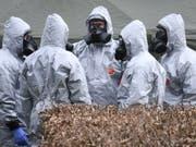 Die beiden Tatverdächtigen im Fall Skripal hielten sich vor der Attacke im englischen Salisbury laut der «SonntagsZeitung» und «Le Matin Dimanche» öfters in der Schweiz auf. (Bild: KEYSTONE/EPA/NEIL HALL)