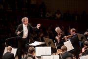 Die Wiener Philharmoniker mit Dirigent Franz Welser-Möst im KKL. (Bilder: Manuela Jans-Koch / LF, 8. September 2018)