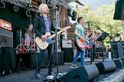 The Free Electric Band aus der Zentralschweiz zeigen ihr Können.