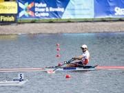 Michael Schmid rudert souverän in den WM-Halbfinal (Bild: KEYSTONE/EPA/ROBERT PERRY)