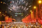 Der Triumphbogen in Paris. (Bild: AP Photo/Michel Euler)