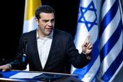 Der griechische Ministerpräsident Alexis Tsipras. (Bild: EPA/JIM HOLLANDER, 20.12.2018)