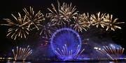 Das berühmte Riesenrad London Eye. (Bild: AP Photo/Kirsty Wigglesworth)