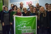 Die städtischen Grünen bei ihrer Mitgliederversammlung. (Bild: PD)