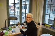Cornelia Bein, Architektin, Netzwerkerin und Kulturschaffende, daheim in der Steckborner Altstadt. (Bild: Margrith Pfister-Kübler)