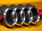 Bremsspuren bei Audi: Die Verkäufe sind 2018 gesunken. (Bild: KEYSTONE/EPA/RONALD WITTEK)