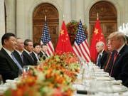US-Präsident Donald Trump und Chinas Präsident Xi Jinping hatten unlängst bei ihrem Treffen in Buenos Aires neuen Schwung in die Verhandlungen beim Handelsstreit gebracht. (Bild: KEYSTONE/AP/PABLO MARTINEZ MONSIVAIS)