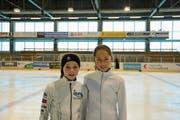 Milena Bleiker (links) und Olivia Gantenbein. (Bild: Valentina Thurnherr)
