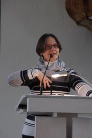 Monika Riwar nutzt Wut als Energiequelle. (Bild: Salome Preiswerk)