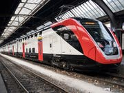 Der neue Fernverkehr-Doppelstockzug der SBB «FV-Dosto» ist in den Augen der Behindertenorganisationen gesetzeswidrig. (Bild: KEYSTONE/ENNIO LEANZA)