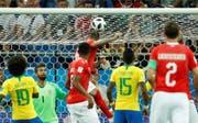 Der Quotenknaller 2018 schlechthin war mit 1,6 Millionen Zuschauern das WM-Spiel Schweiz-Brasilien. (Bild: keystone)