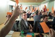 Die SVP St.Gallen nominiert Mike Egger für die Ständeratskandidatur. (Bilder: Michel Canonica)