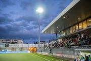 Das Fussballstadion wie auch der Sportpark werden ab 2020 nicht mehr den Namen der IGP tragen. Die Suche nach einem neuen Namensgeber läuft. (Bild: Urs Bucher)