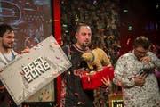 Effe aus Emmen gewinnt den Kick Ass Award für den besten Song 2018. (Bild: Dominik Wunderli (Luzern, 10. Januar 2019))
